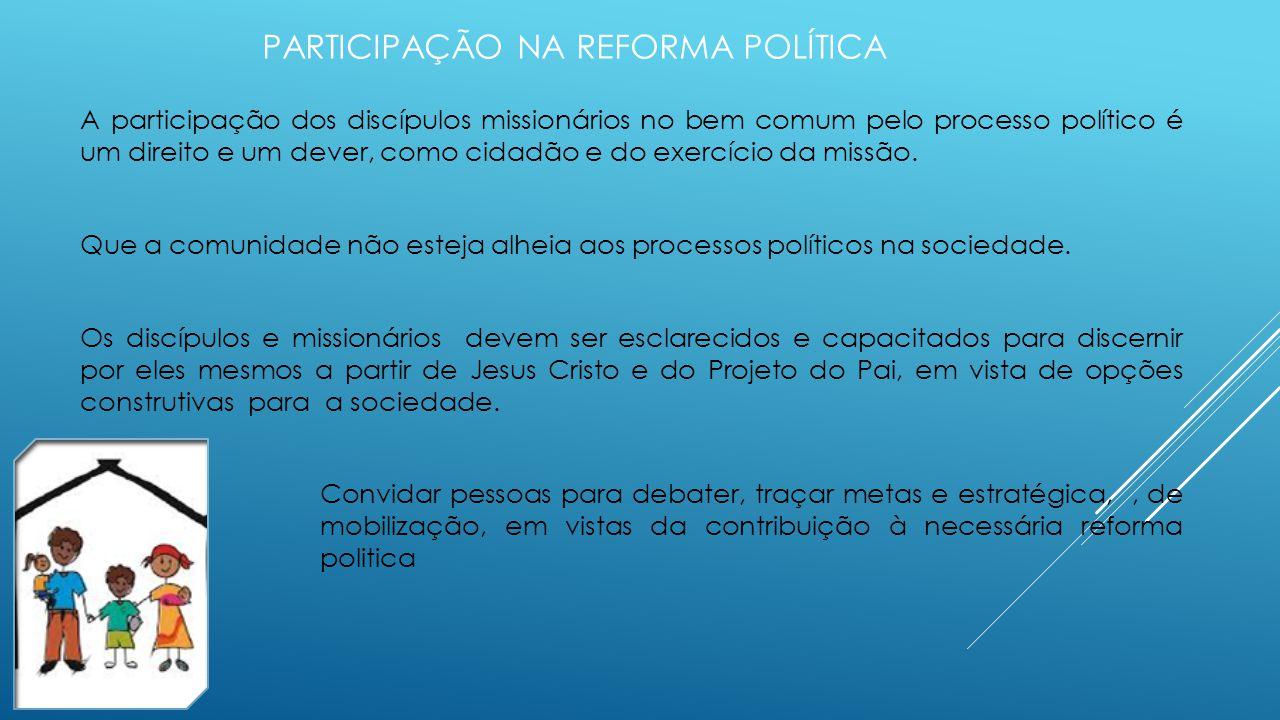 Participação na reforma política