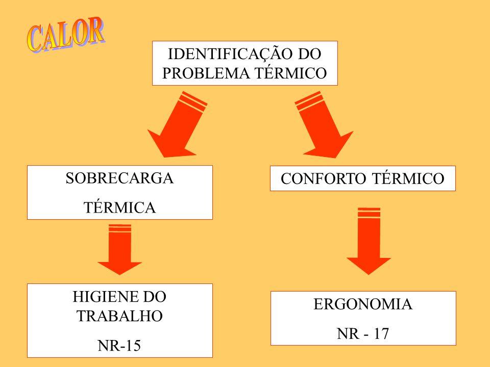 IDENTIFICAÇÃO DO PROBLEMA TÉRMICO