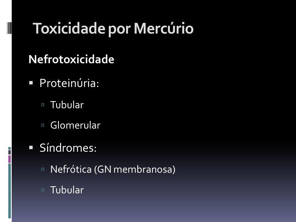 Toxicidade por Mercúrio