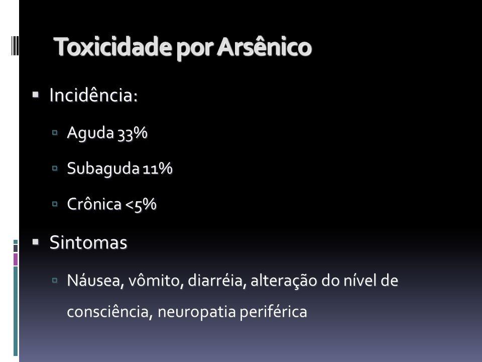 Toxicidade por Arsênico