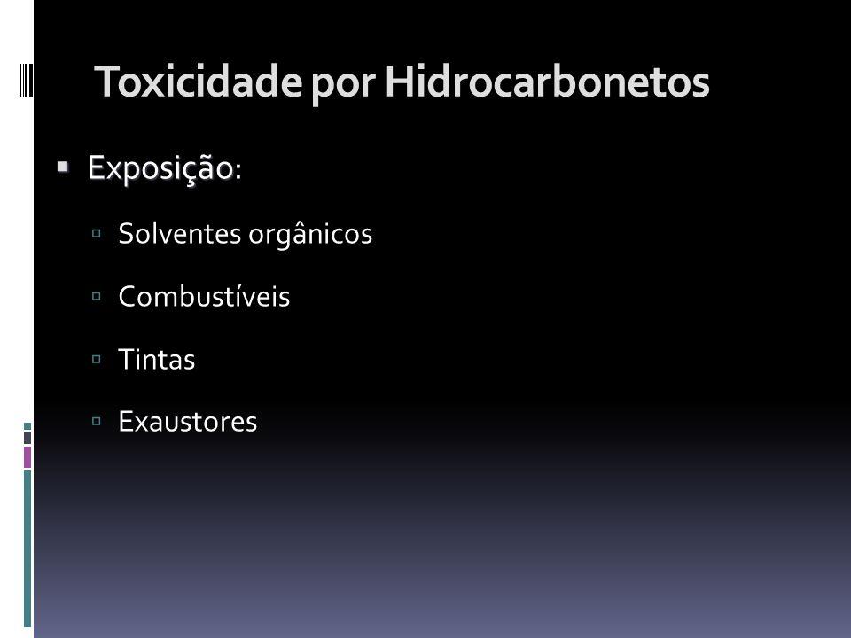 Toxicidade por Hidrocarbonetos