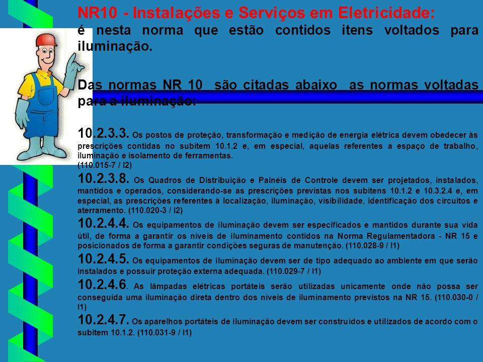 NR10 - Instalações e Serviços em Eletricidade:
