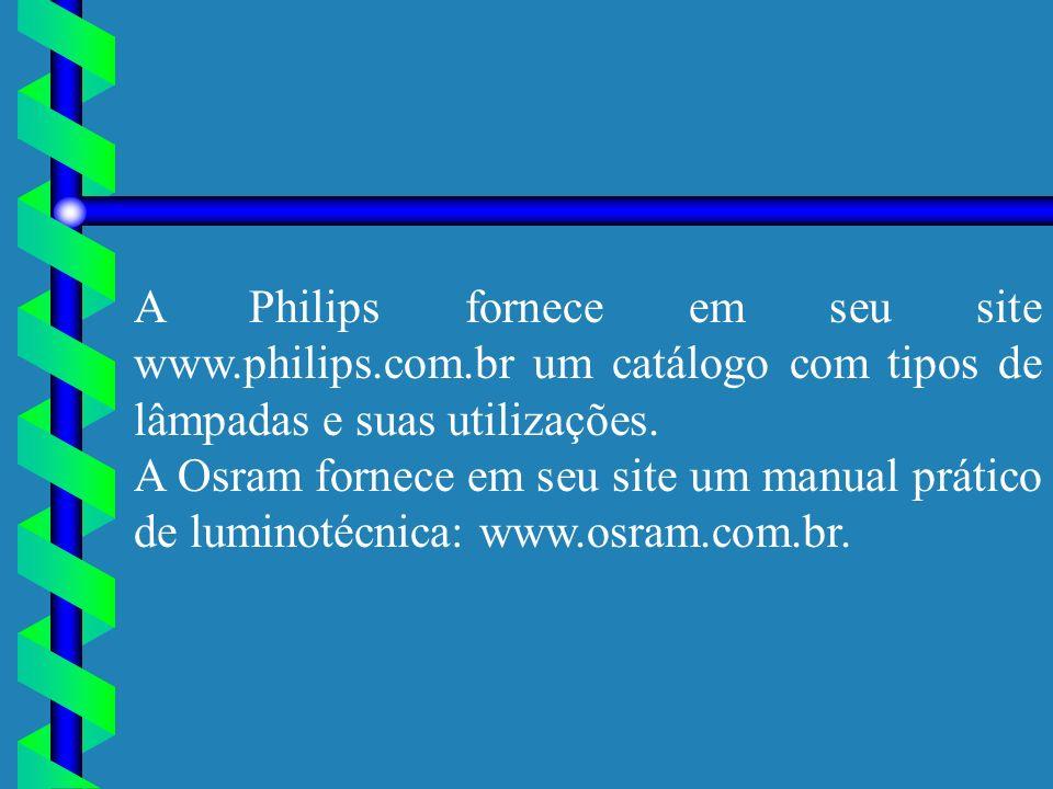 A Philips fornece em seu site www. philips. com