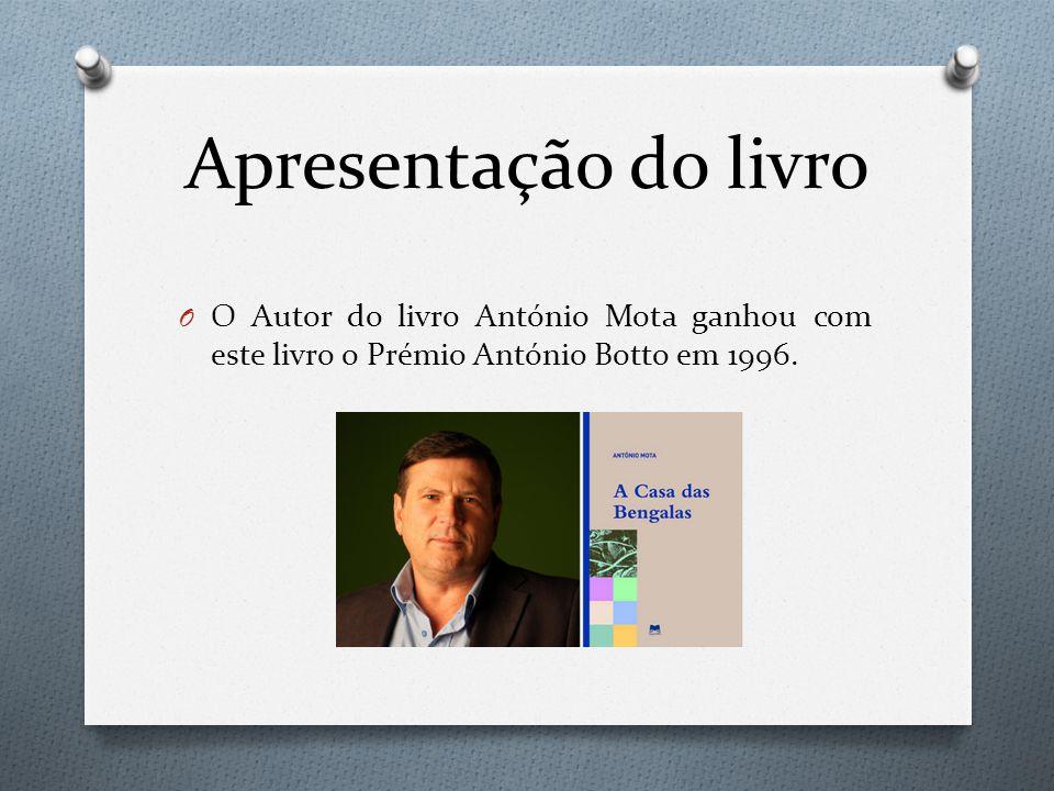 Apresentação do livro O Autor do livro António Mota ganhou com este livro o Prémio António Botto em 1996.