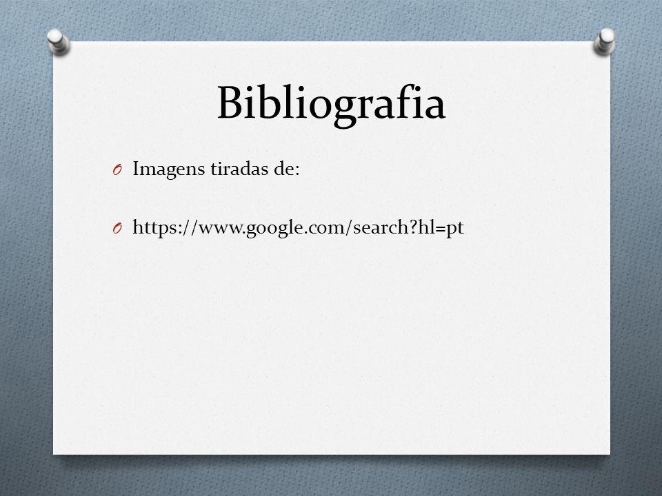 Bibliografia Imagens tiradas de: https://www.google.com/search hl=pt