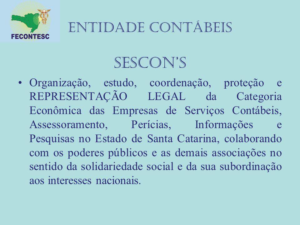 SESCON'S ENTIDADE CONTÁBEIS