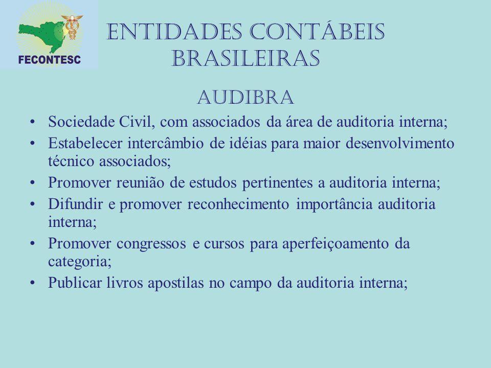 Entidades contábeis brasileiras