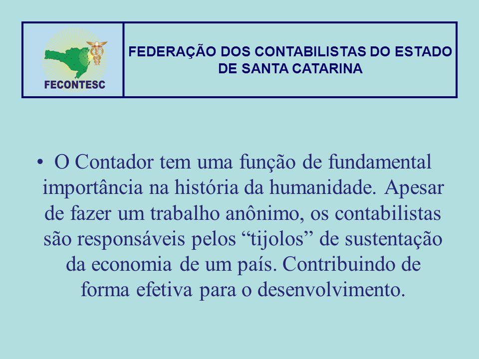 FEDERAÇÃO DOS CONTABILISTAS DO ESTADO DE SANTA CATARINA