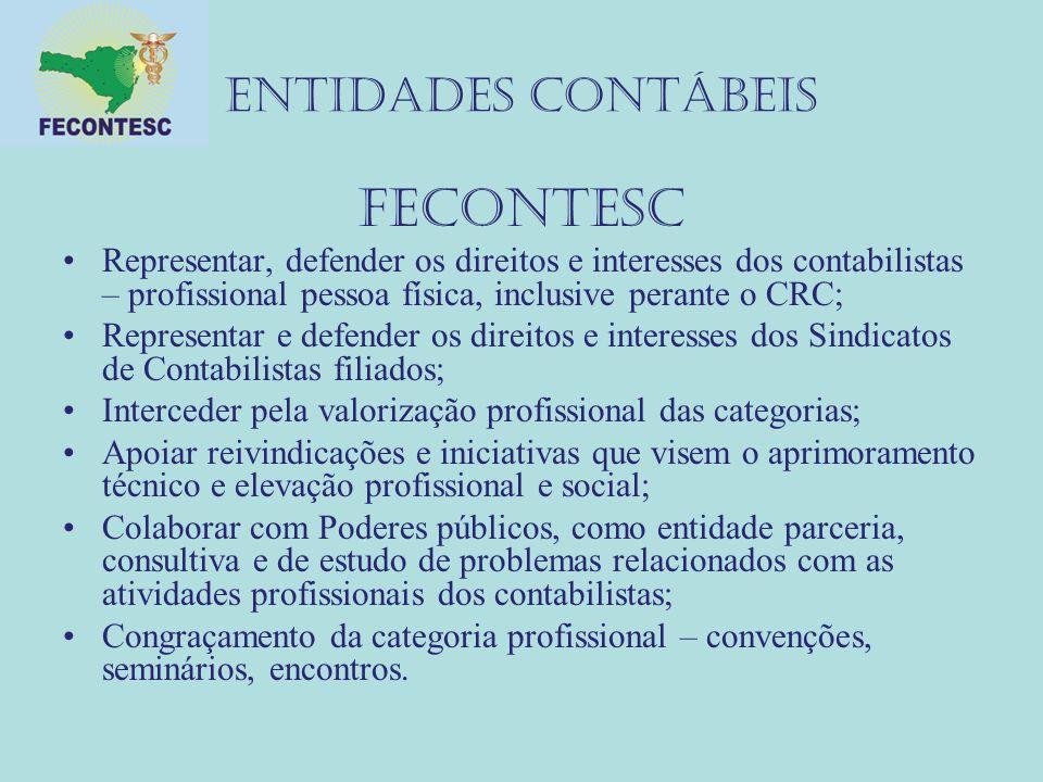 FECONTESC ENTIDADES CONTÁBEIS