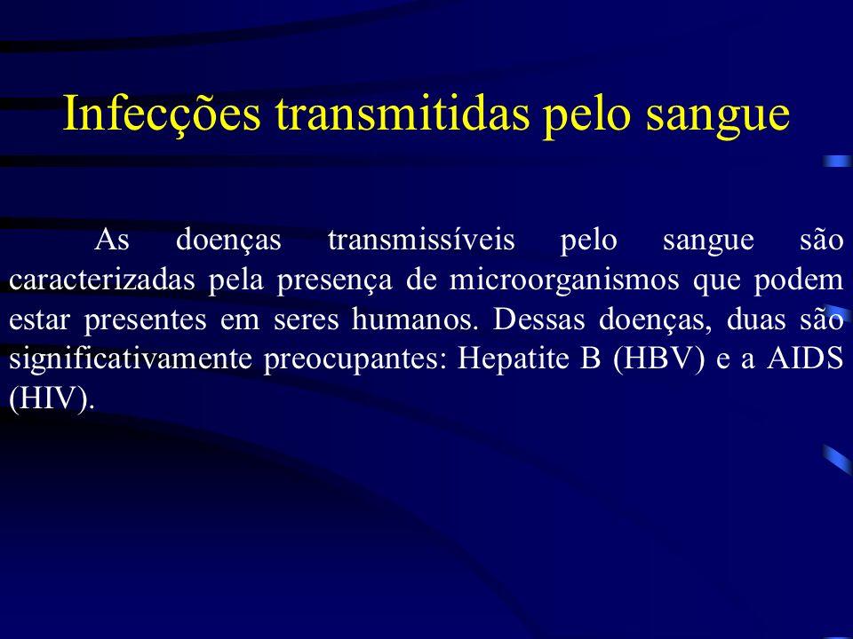 Infecções transmitidas pelo sangue