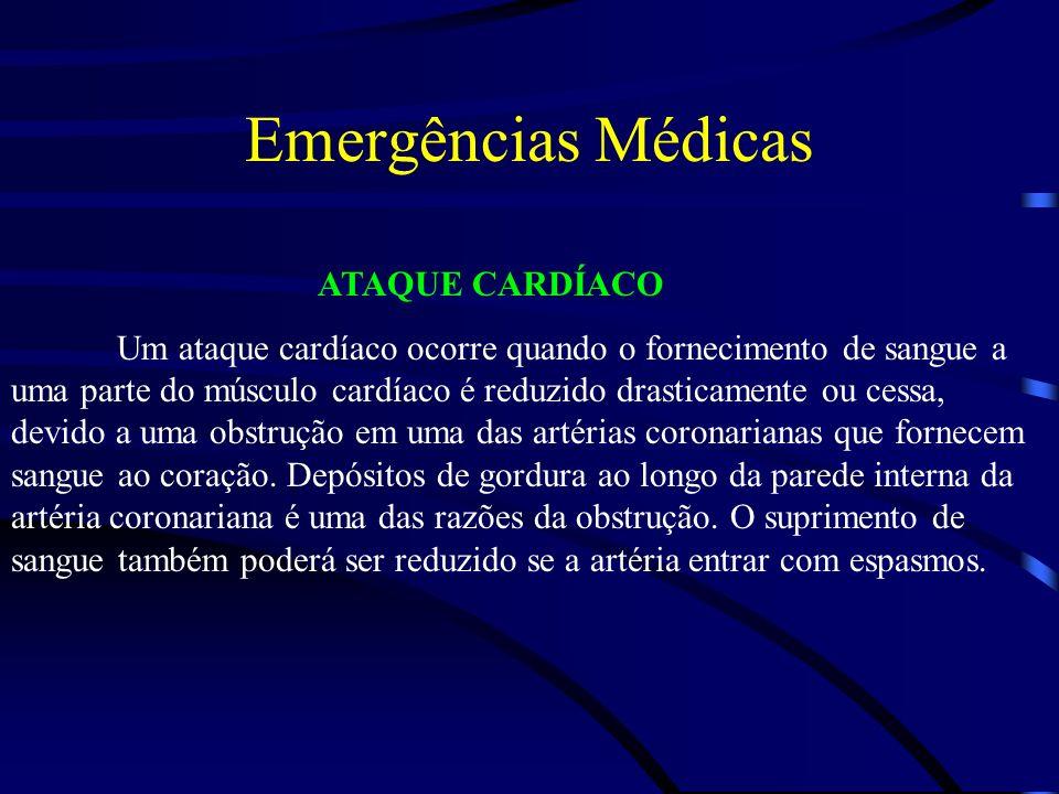 Emergências Médicas ATAQUE CARDÍACO