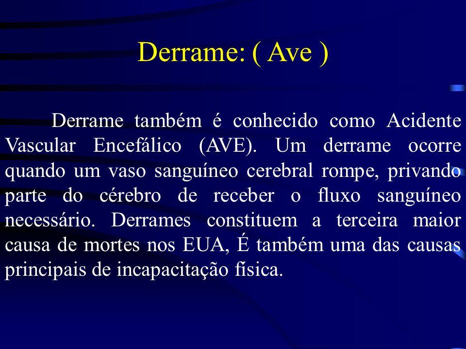 Derrame: ( Ave )