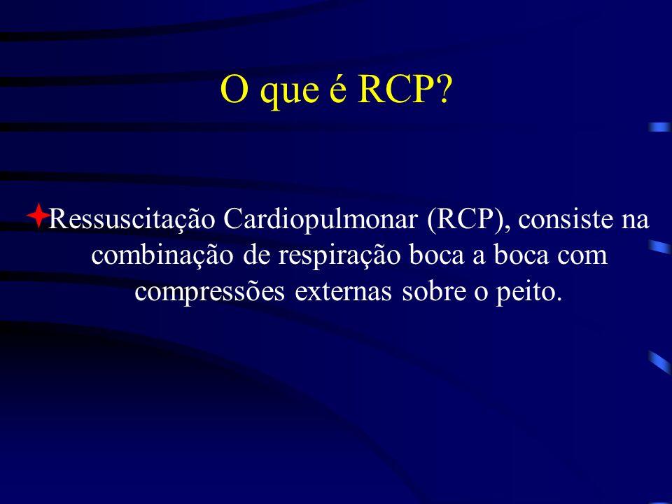 O que é RCP.