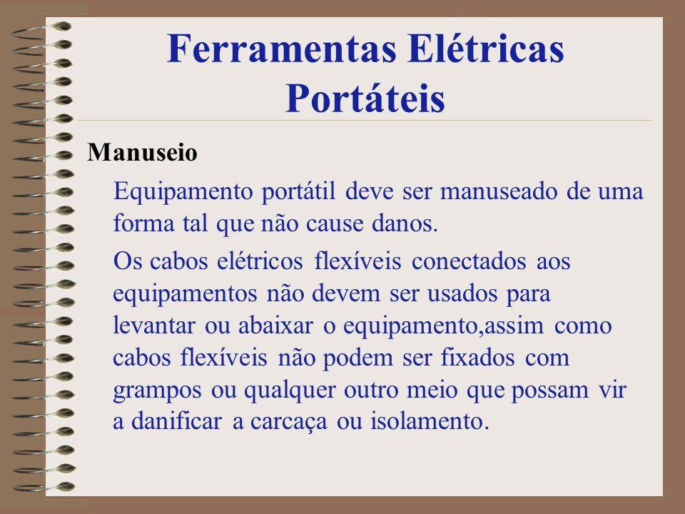 Ferramentas Elétricas Portáteis