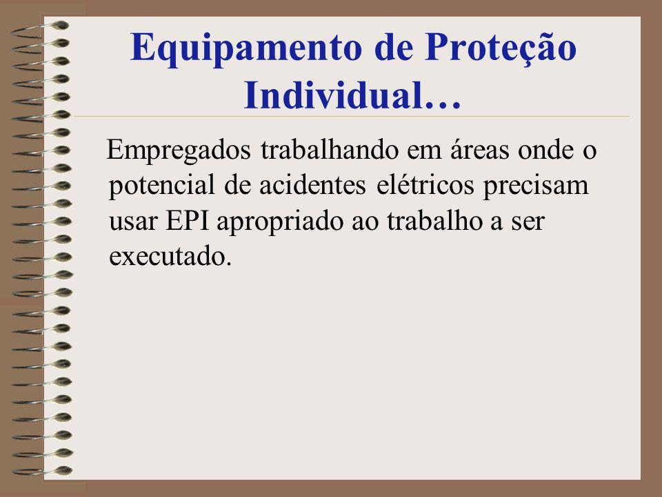 Equipamento de Proteção Individual…