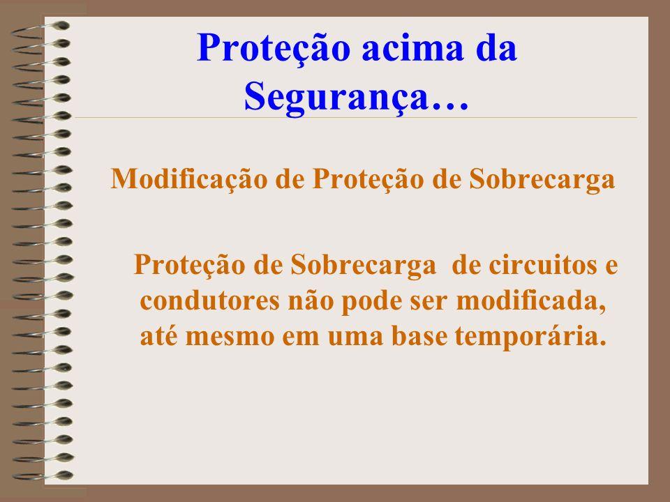Proteção acima da Segurança…