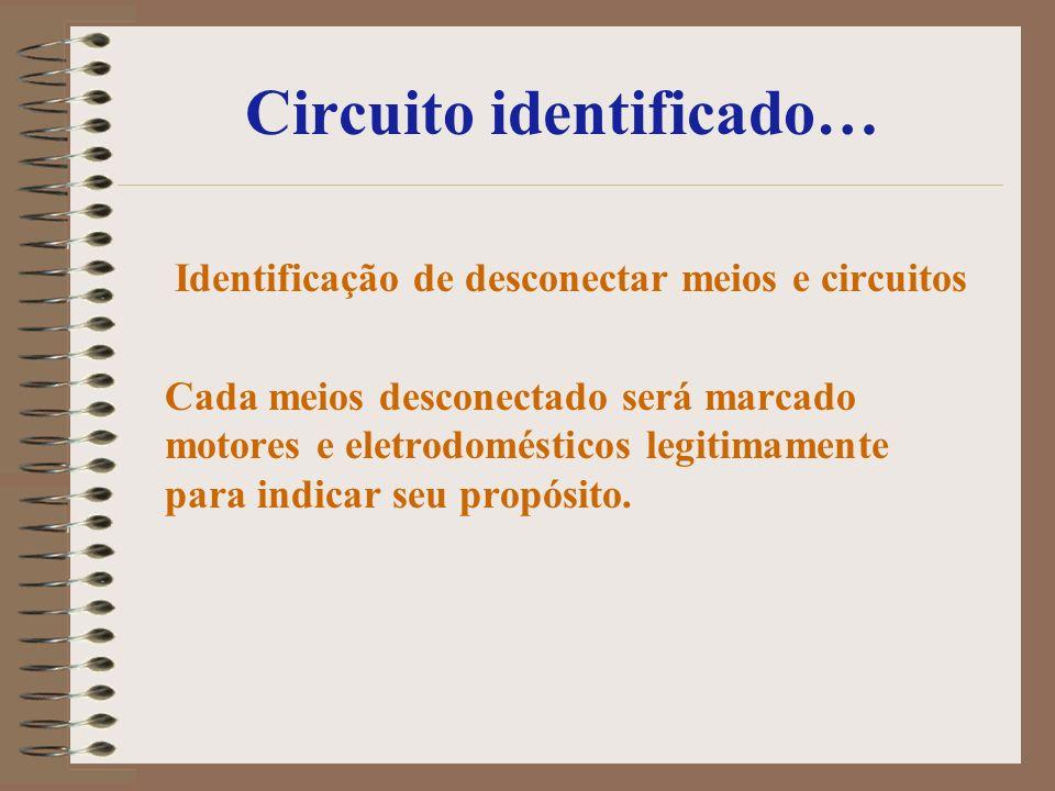 Circuito identificado…