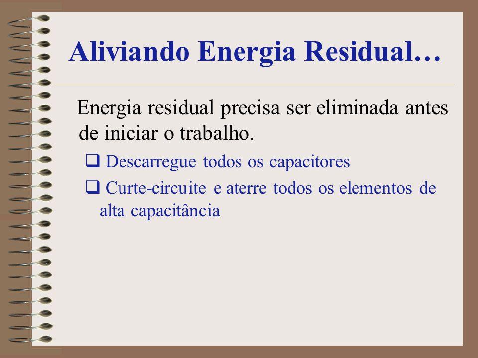 Aliviando Energia Residual…