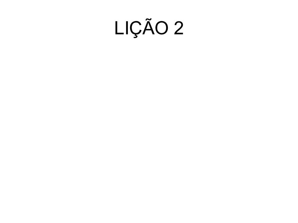 LIÇÃO 2