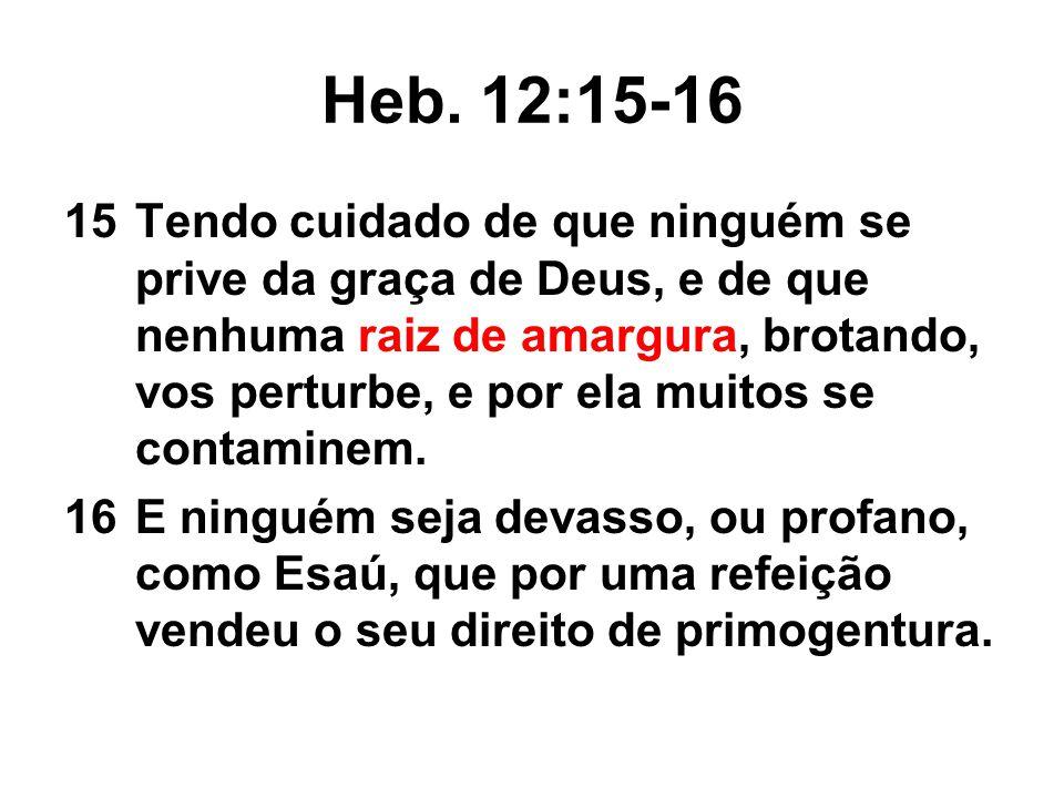Heb. 12:15-16