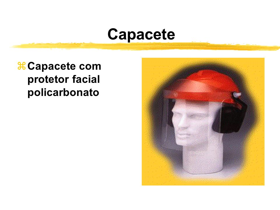 Capacete Capacete com protetor facial policarbonato