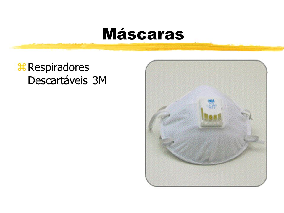 Máscaras Respiradores Descartáveis 3M