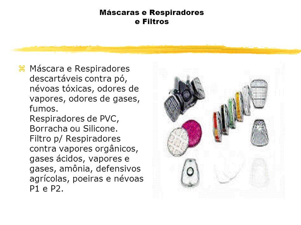 Máscaras e Respiradores e Filtros