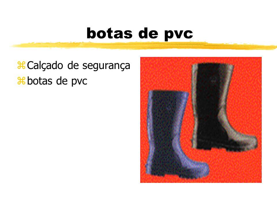botas de pvc Calçado de segurança botas de pvc