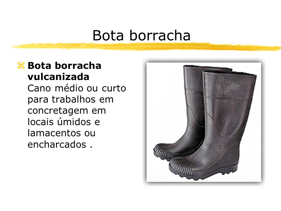 Bota borracha