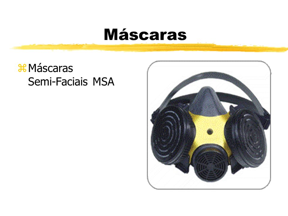 Máscaras Máscaras Semi-Faciais MSA