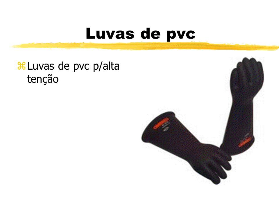 Luvas de pvc Luvas de pvc p/alta tenção