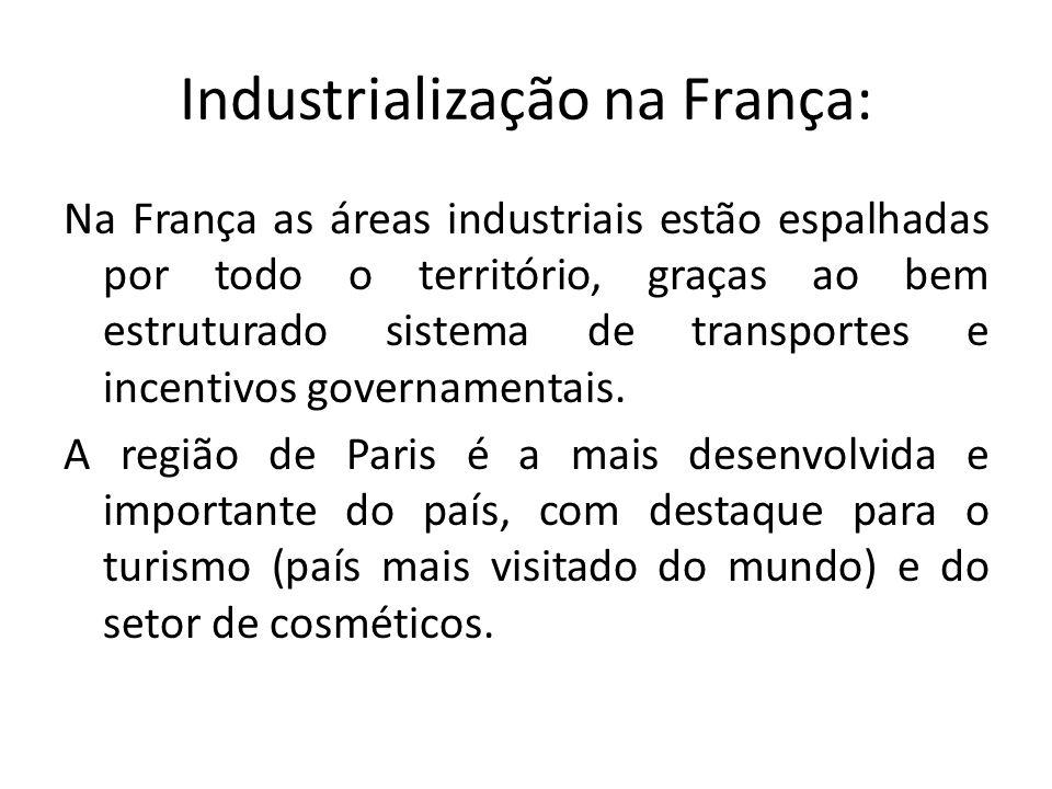 Industrialização na França: