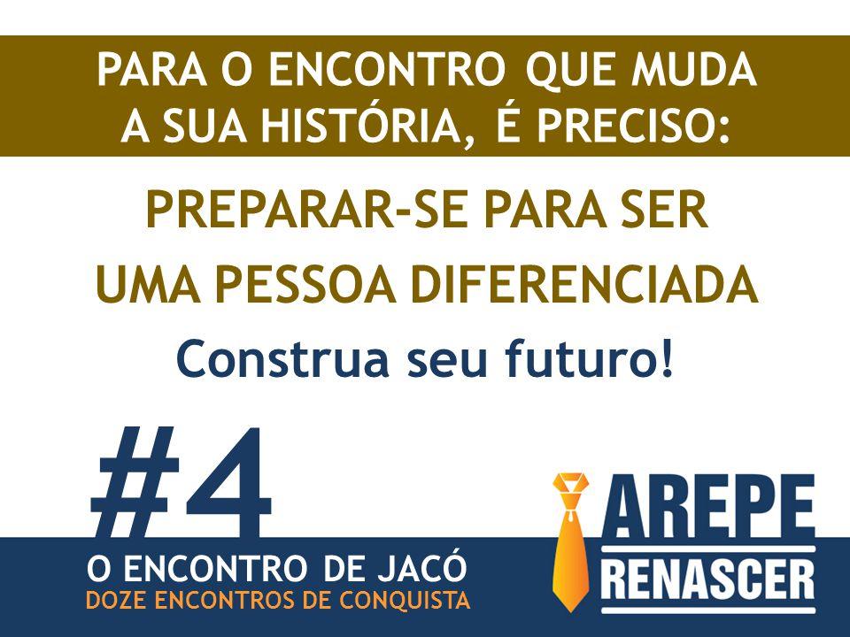 #4 PREPARAR-SE PARA SER UMA PESSOA DIFERENCIADA Construa seu futuro!
