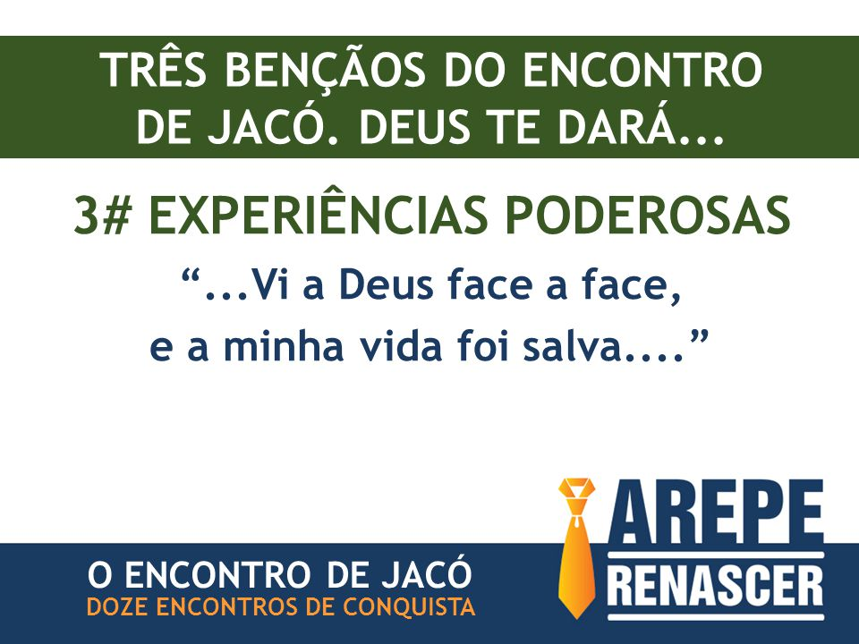 3# EXPERIÊNCIAS PODEROSAS