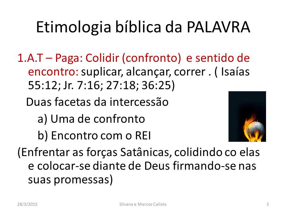 Etimologia bíblica da PALAVRA