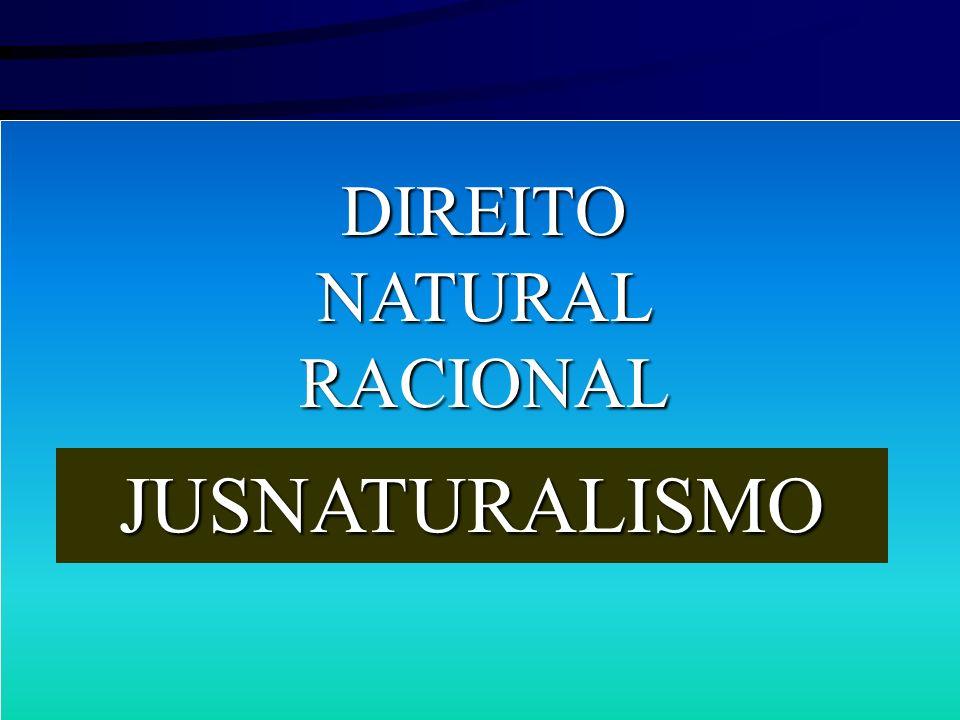 DIREITO NATURAL RACIONAL