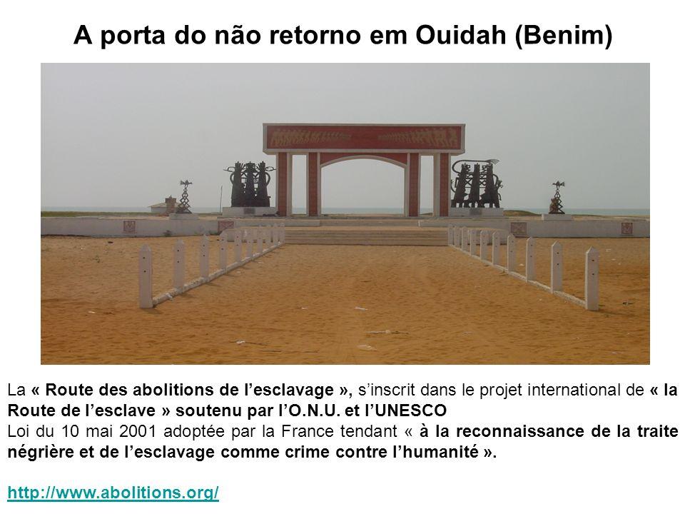A porta do não retorno em Ouidah (Benim)