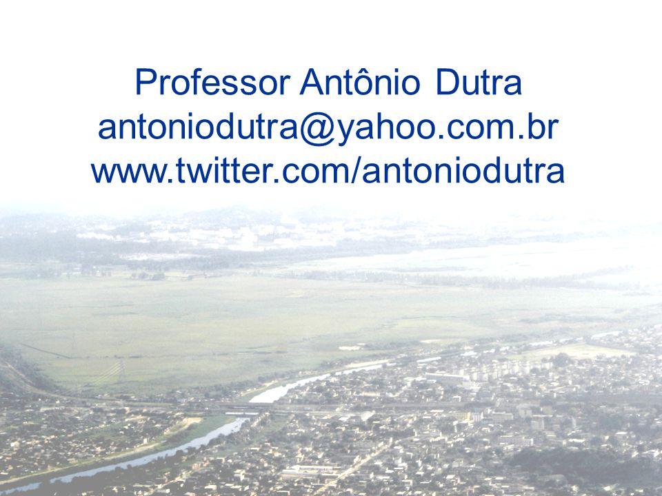 Professor Antônio Dutra