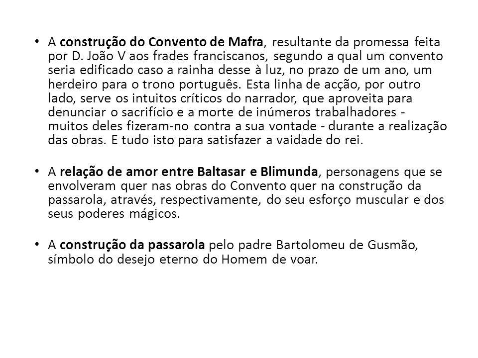 A construção do Convento de Mafra, resultante da promessa feita por D