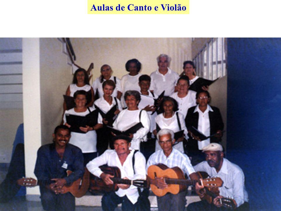 Aulas de Canto e Violão