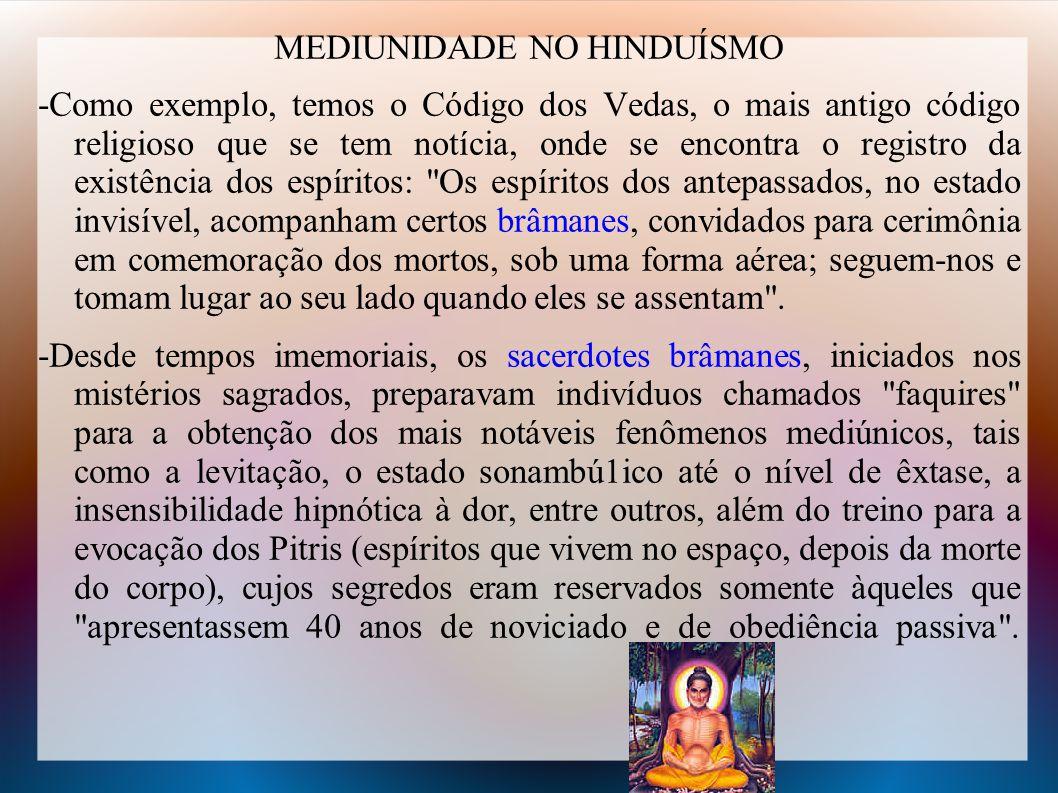 MEDIUNIDADE NO HINDUÍSMO