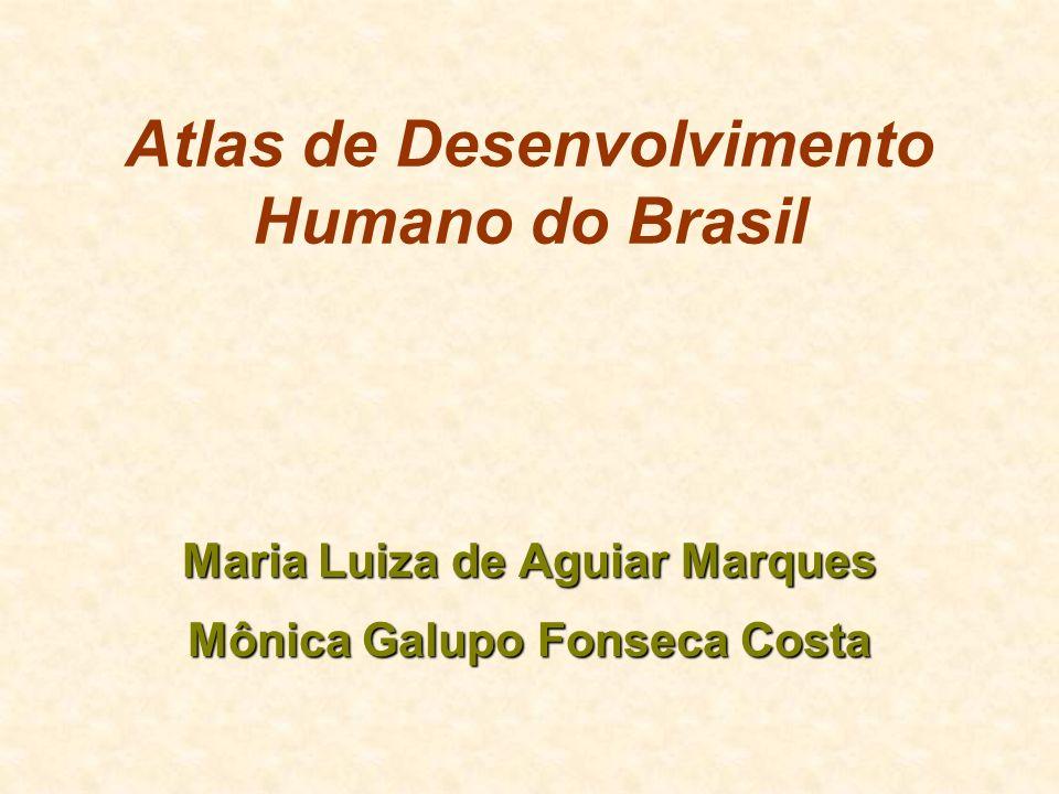 Atlas de Desenvolvimento Humano do Brasil