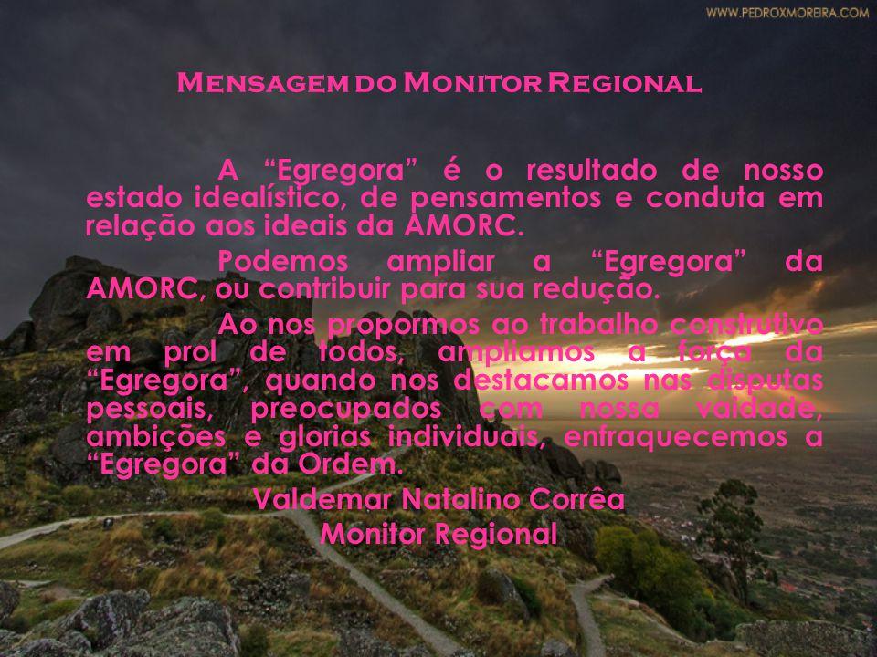 Mensagem do Monitor Regional