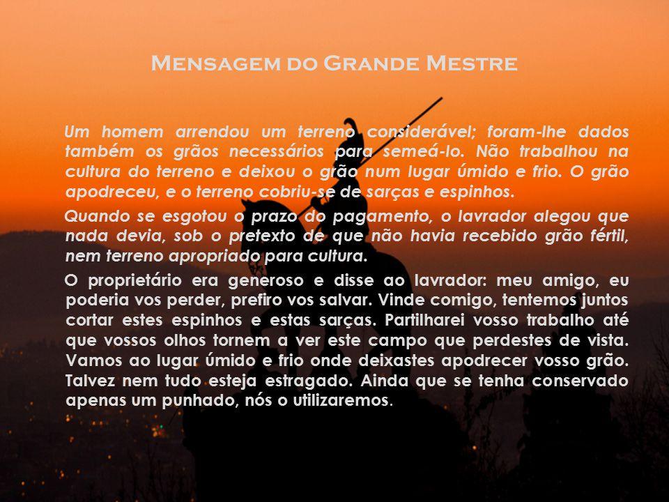 Mensagem do Grande Mestre