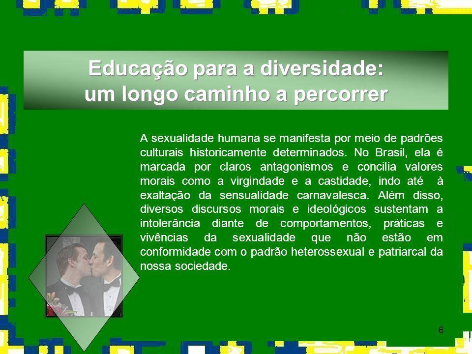 Educação para a diversidade: um longo caminho a percorrer