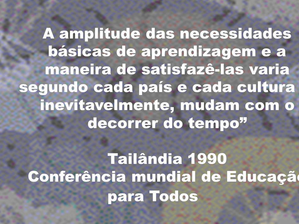 Conferência mundial de Educação para Todos