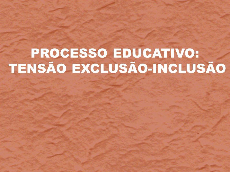 TENSÃO EXCLUSÃO-INCLUSÃO