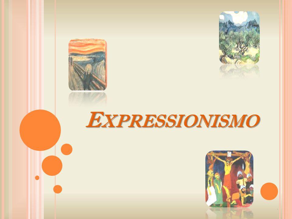 Expressionismo .