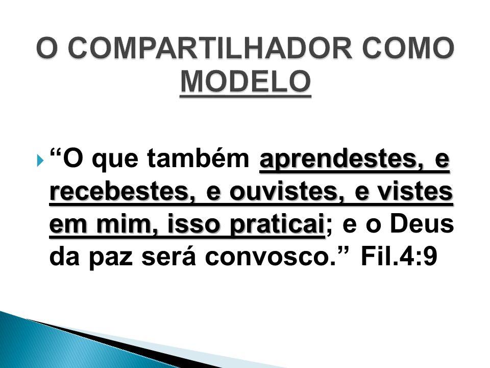 O COMPARTILHADOR COMO MODELO