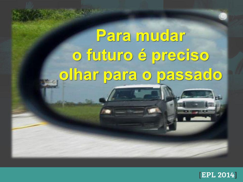 o futuro é preciso olhar para o passado